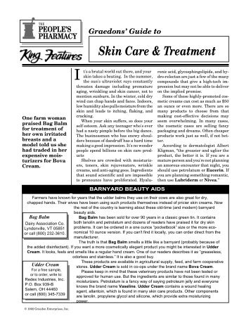 Skin Care & Treatment