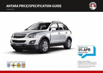 Vauxhall Antara Price Guide