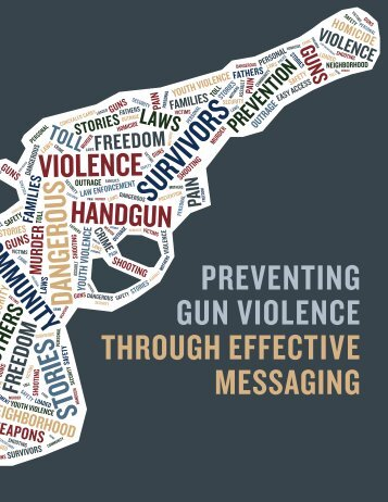 Gun ViolenceMessaging Guide PDF-1