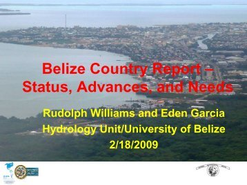 Belize Flood Risk