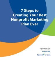 7 Steps to Creating Your Best Nonprofit Marketing Plan Ever