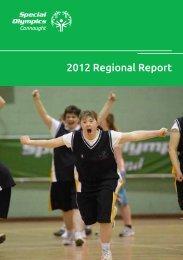 2012 Regional Report - Special Olympics Ireland