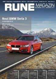 Noul BMW Seria 3 - RUNE Piese Auto