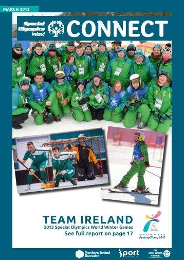 March 2013 - Special Olympics Ireland