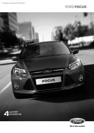 Preisliste vom NEUEN Ford Focus - Ford4you.at