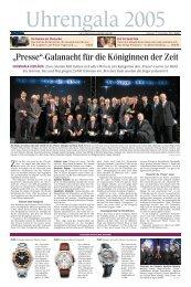 """""""Presse""""-Galanacht für die Königinnen der Zeit - Viennatime"""