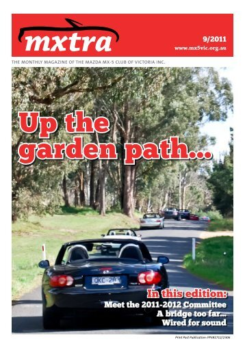 September - Mazda MX-5 Club of Victoria & Tasmania