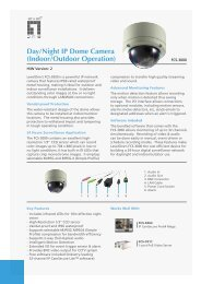 Day/Night IP Dome Camera (Indoor/Outdoor Operation) - Levelone