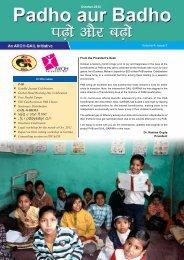 Padho Aur Badho - October 2012 - Aroh Foundation