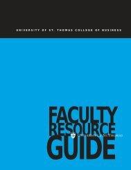 Management - University of St. Thomas