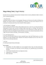 Ring of Kerry Trail (4 Tage/3 Nächte) - Irish-net
