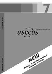 Aktuelle Preisliste zu Edition 7 Gültig ab 01.01.2009 - ENVIBOW