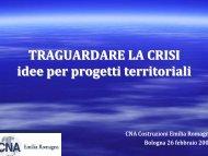 Traguardare la crisi - CNA Emilia Romagna