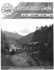 CANADIAN RAIL