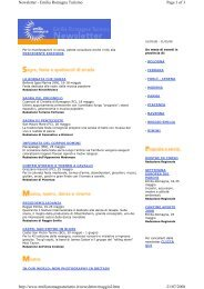 Page 1 of 3 Newsletter - Emilia Romagna Turismo 21/07/2008 http ...
