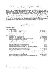 153), jeweils in der derzeit gültigen Fassung und des § 7 Abs. 1 ...
