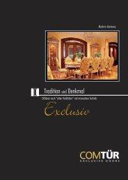 ComTuer Tradition und Denkmal (pdf, 8801 kb) - Torda Türen