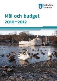 Mål och budget 2010–2012 - Södertälje kommun