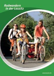 Radwandern in der Lausitz - Lausitzer Seenland