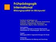 Curriculum international - Wassilios E. Fthenakis
