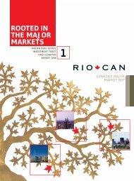 1st Quarter Report to Unitholders - English version (PDF ... - RioCan