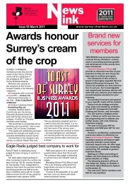 awards honour Surrey's cream of the crop - Surrey Chambers of ...