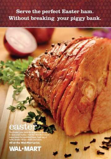 Serve the perfect Easter ham. Without breaking your ... - In Stores Now