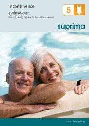 Incontinence swimwear - Suprima GmbH