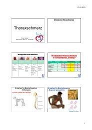 Thoraxschmerz - FINeST