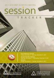 Session Tracker - Confex