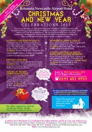 Christmas and New Year - Britannia Hotels