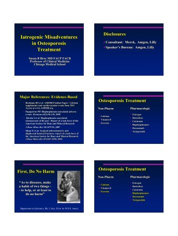 Spotlight on Osteoporosis - Confex