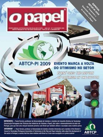 melhores estandes do abtcP-Pi 2009 - Revista O Papel
