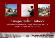 Europa Hotel, Gatwick - Britannia Hotels