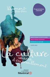 Programmation culturelle - Accès culture