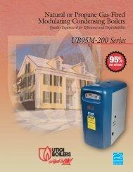 Natural or Propane Gas-Fired Modulating - Columbia Heating