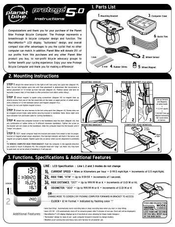 bell f12 bike computer manual