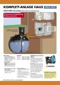 und Hausanlage, Oberirdische Speicher Regenwasser-Nutzung - Obi - Seite 6
