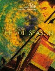 2011 SeaSon - Sun Valley Summer Symphony
