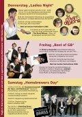 Folder Bierfestival 2006 mit detailliertem Programm - BierIG Österreich - Seite 2