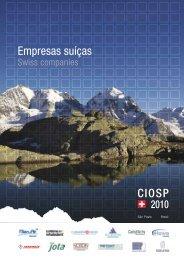 Empresas suíças CIOSP - Swisscam