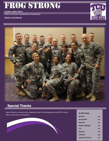 Let's Get Muddy! - Army ROTC - Texas Christian University