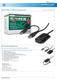 Digitus DK-1531-020//BL Cable P SF//UTP CAT5e 2m black polybag
