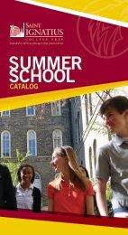 SUMMER SCHOOL - St. Ignatius College Prep