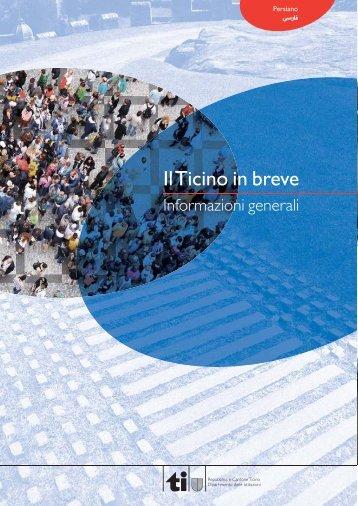Ticino in Breve _ARA - Repubblica e Cantone Ticino