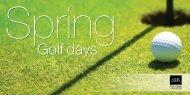 Golf days - The Club Company