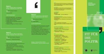 Folder Politiklehrgang 20#F7105