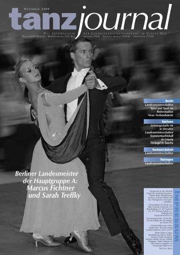 Marcus Fichtner und Sarah Treffky - Deutscher Tanzsportverband eV