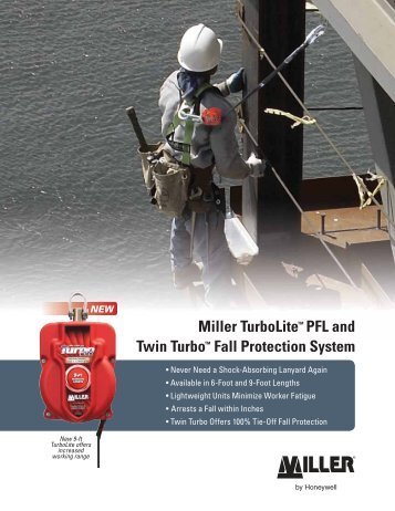 Miller TurboLite™ PFL and Twin Turbo™ Fall Protection System