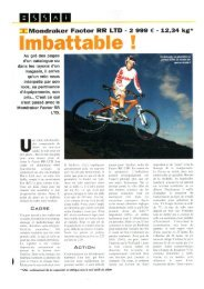 Imbattable ! - Marginal Sport et Cycles